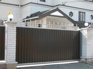 Ворота для дачи своими руками