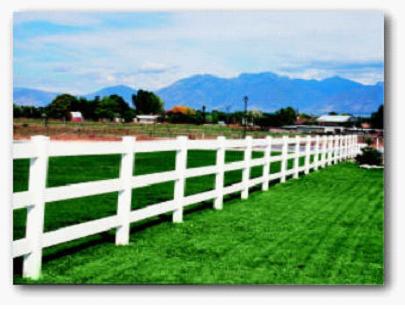 Как изготовить забор «ранчо»