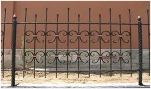 Металлический забор с применением сварки