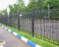 Забор с элементами сварки