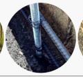 Опалубка под разные столбы