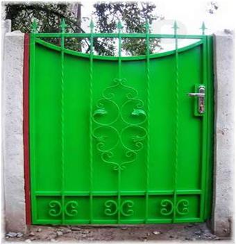 Ворота из сплава