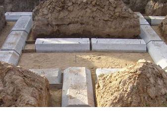 Блоковый фундамент