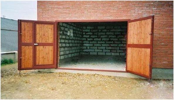 Распахивающиеся ворота