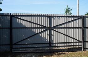 Установленные ворота