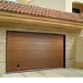 Ворота гаражные с замком