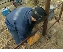 Монтаж поперечин
