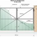 Схема и конструкция распахивающегося типа портала
