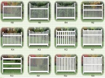 Штакетный забор