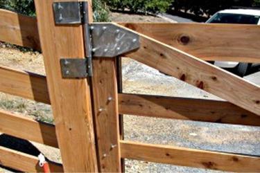 Навешивание ворот