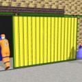 Установка откатных ворот видео