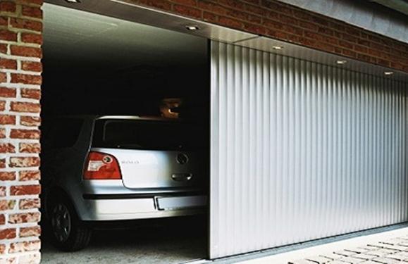 Современные гаражные ворота консольного типа