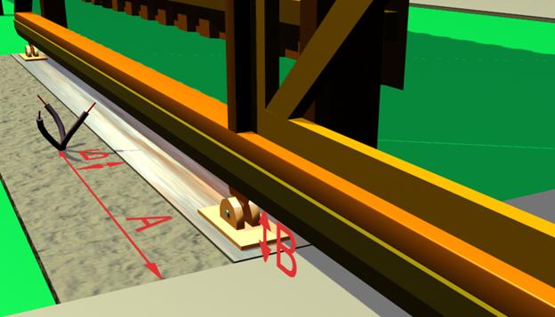 Выведенные концы кабеля для автоматизации ворот