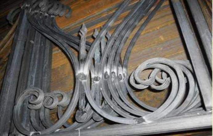 Детали из кованого металла