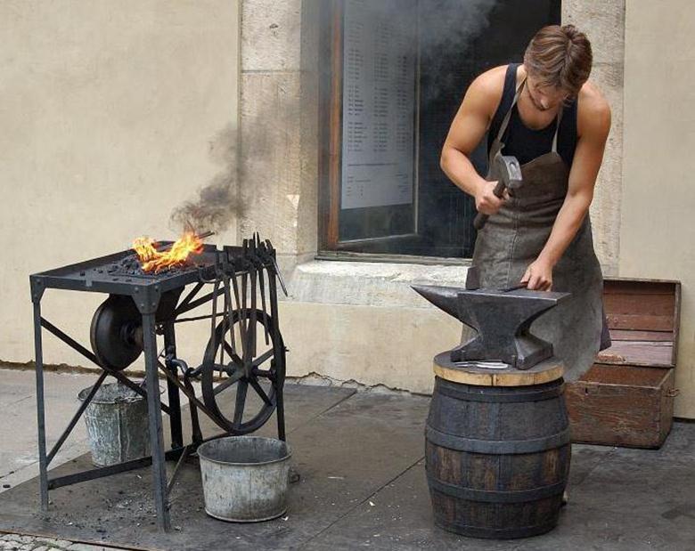Печи для ковки металла своими руками