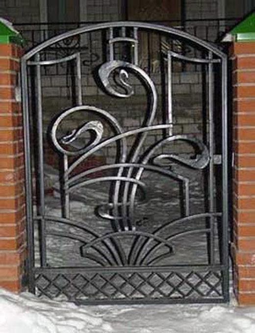 Шикарный кованый орнамент