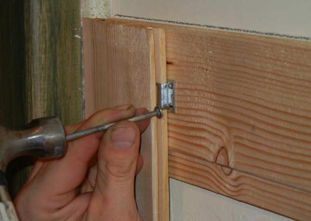 Монтаж деревянных досок