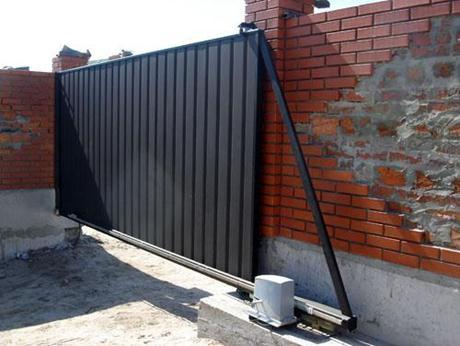Автоматические раздвижные ворота