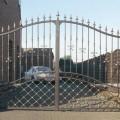 Кованые створки ворот