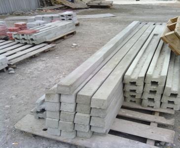 Столбы прямоугольного сечения