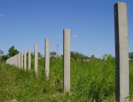 Столбы для ограды