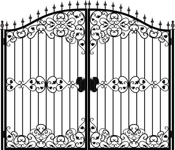 Металлический портал