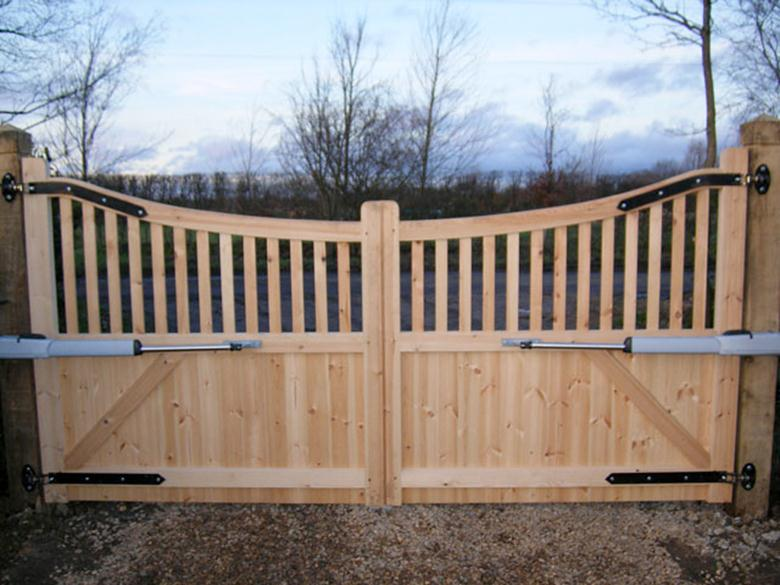 Ворота для дачи своими руками для дачи