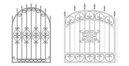 Металлические дверцы