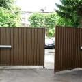 Электропривод на воротах