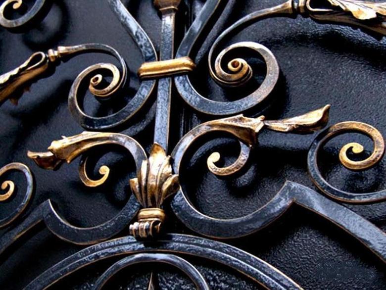 Гнутые кованые изделия