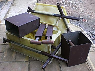 Оборудование для изготовление блоков