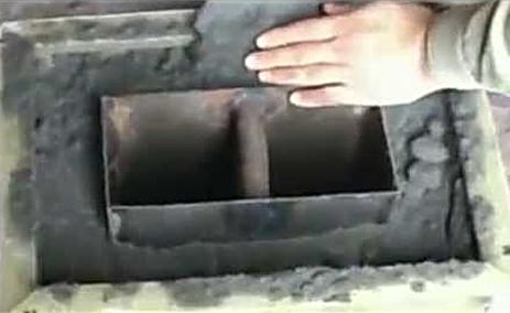 Процесс застывания бетона