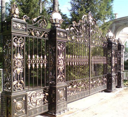 Кованый портал