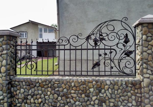 Растительные кованый орнамент