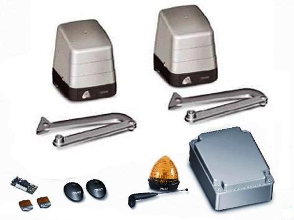 Сигнальная лампа, привод, пульт, фотоэлементы
