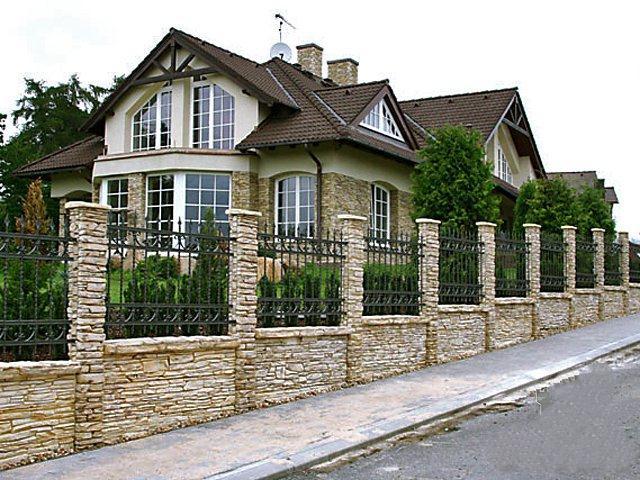Приусадебная ограда