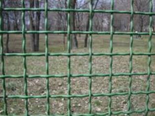 Ограда из проволок