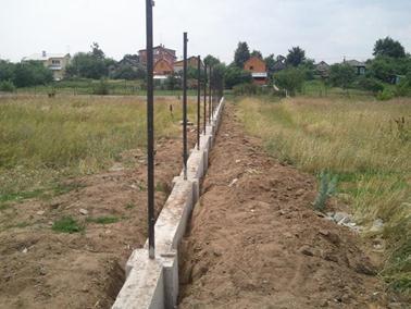 Цельное бетонирование опор