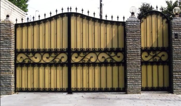 Сплошные ворота