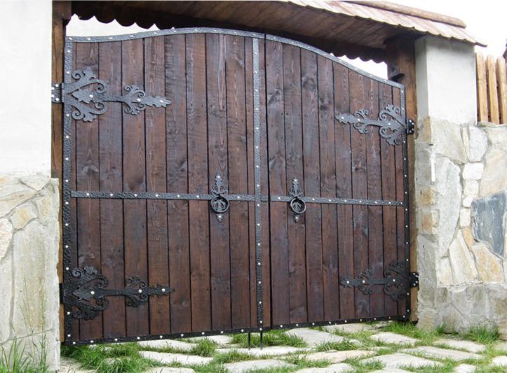 Петли для деревянных ворот распашных своими руками