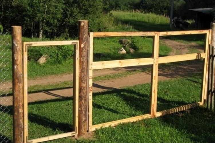 Сделать петли на ворота