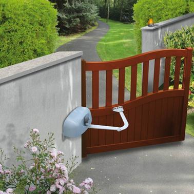 Дверца с электроприводом
