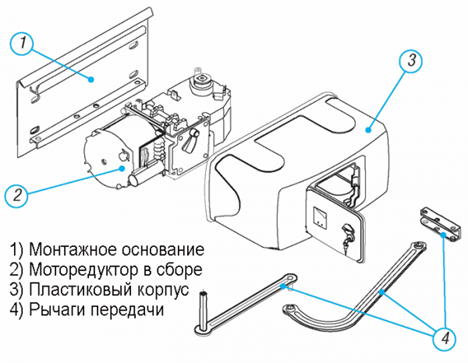 Устройство привода