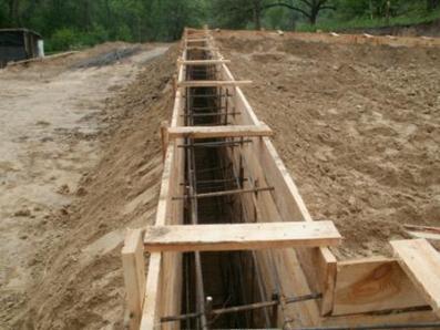 Вспомогательная деревянная конструкция
