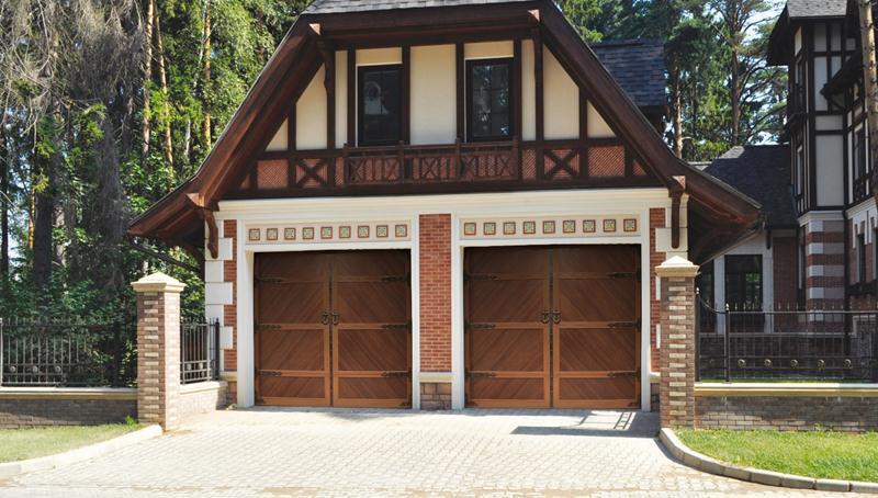 Подъемная конструкция в гараже