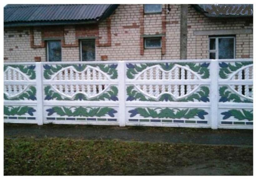 Оригинальная ограда