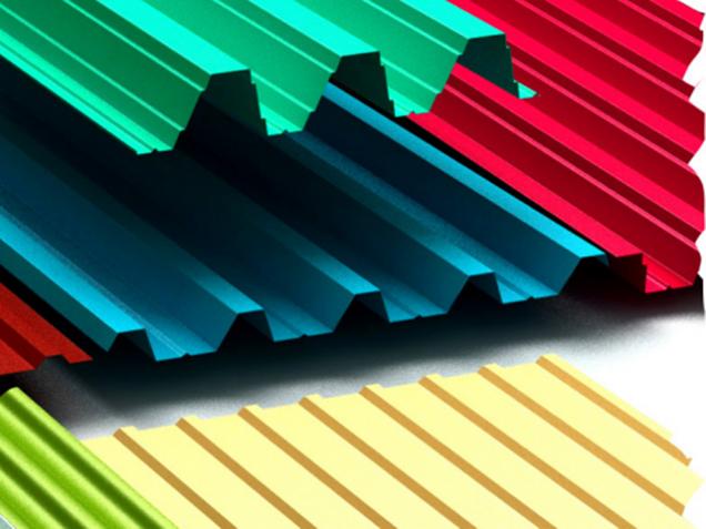 Разноцветные профлисты