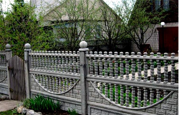 Декоративные забор