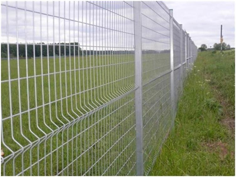 Забор из жесткой проволоки