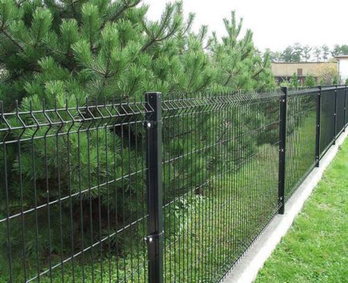 Строгий забор из сварной проволоки
